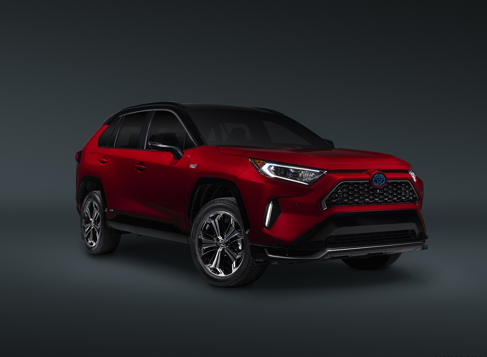 2021 Toyota RAV4 Prime Plug-In Hybrid Front Three-Quarter Wallpapers (7)