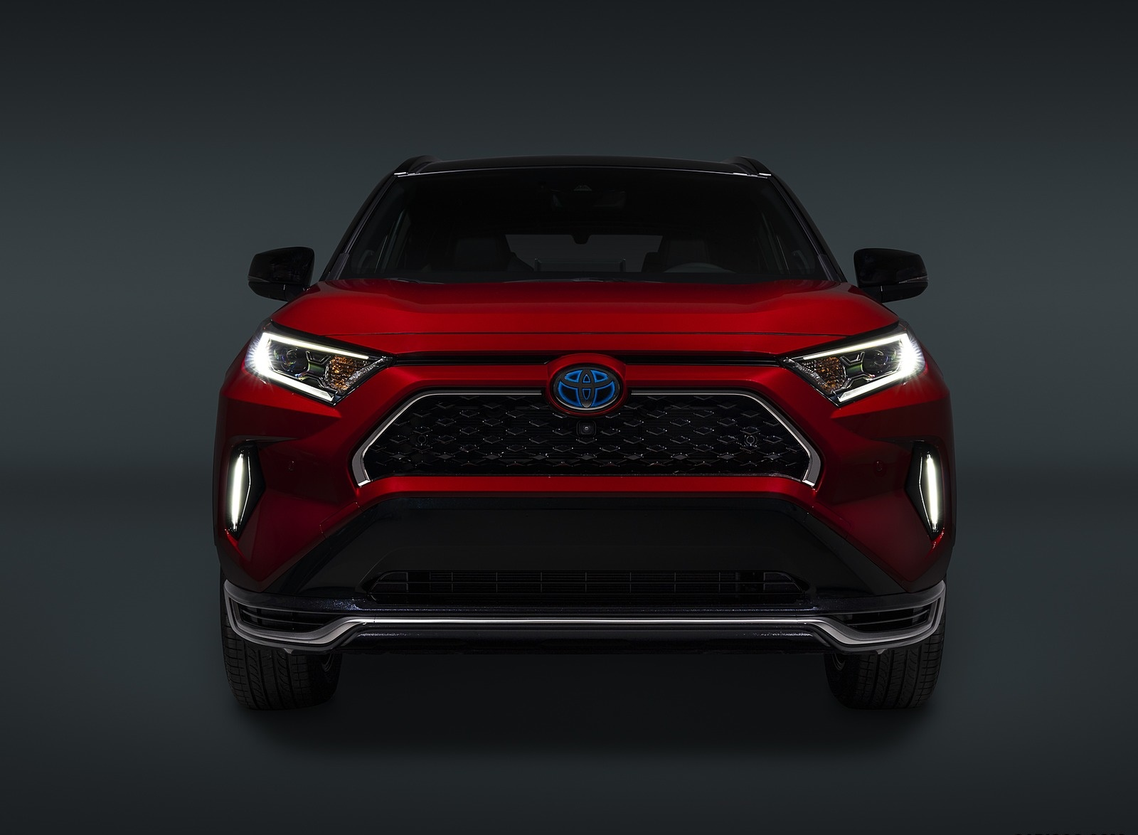 2021 Toyota RAV4 Prime Plug-In Hybrid Front Wallpapers (8)