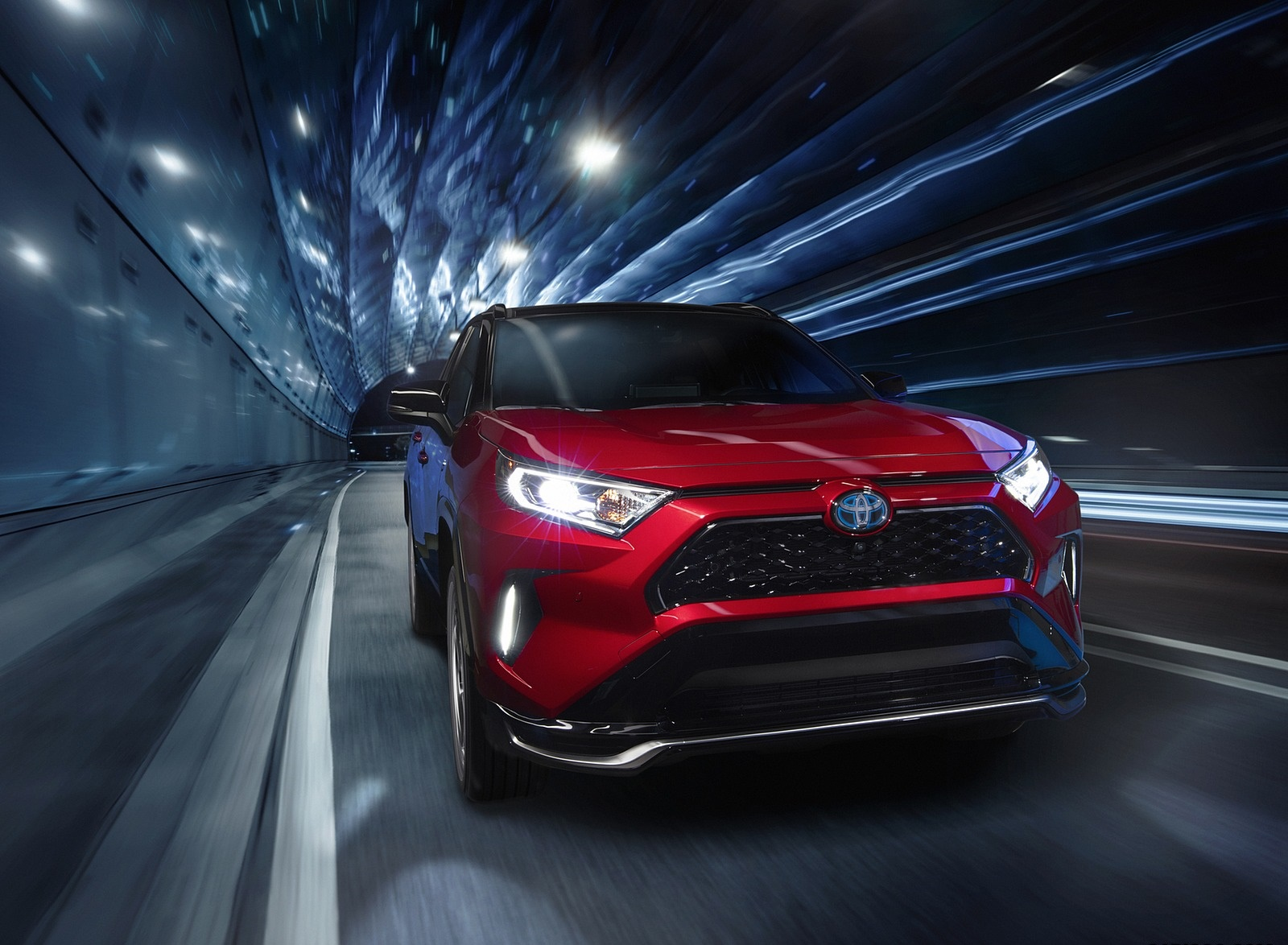 2021 Toyota RAV4 Prime Plug-In Hybrid Front Wallpapers (5)