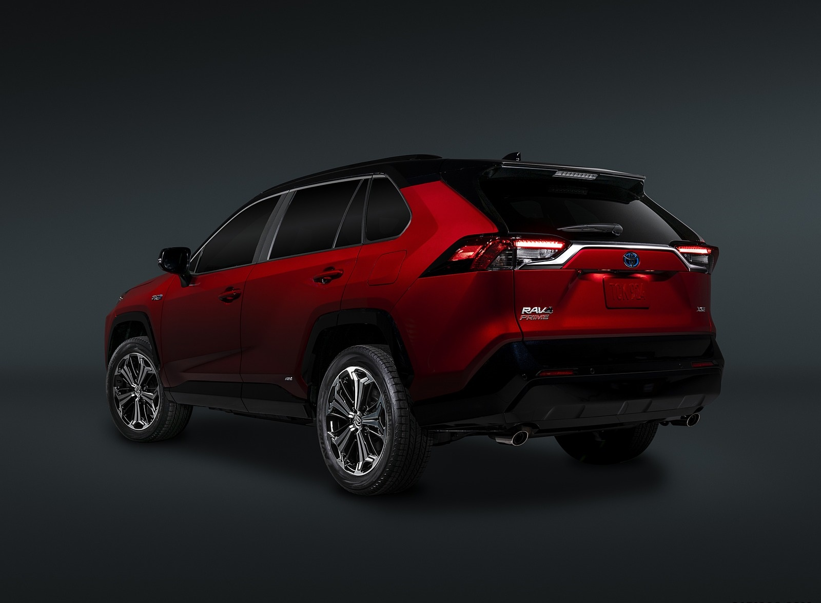 2021 Toyota RAV4 Prime Plug-In Hybrid Rear Three-Quarter Wallpapers (9)