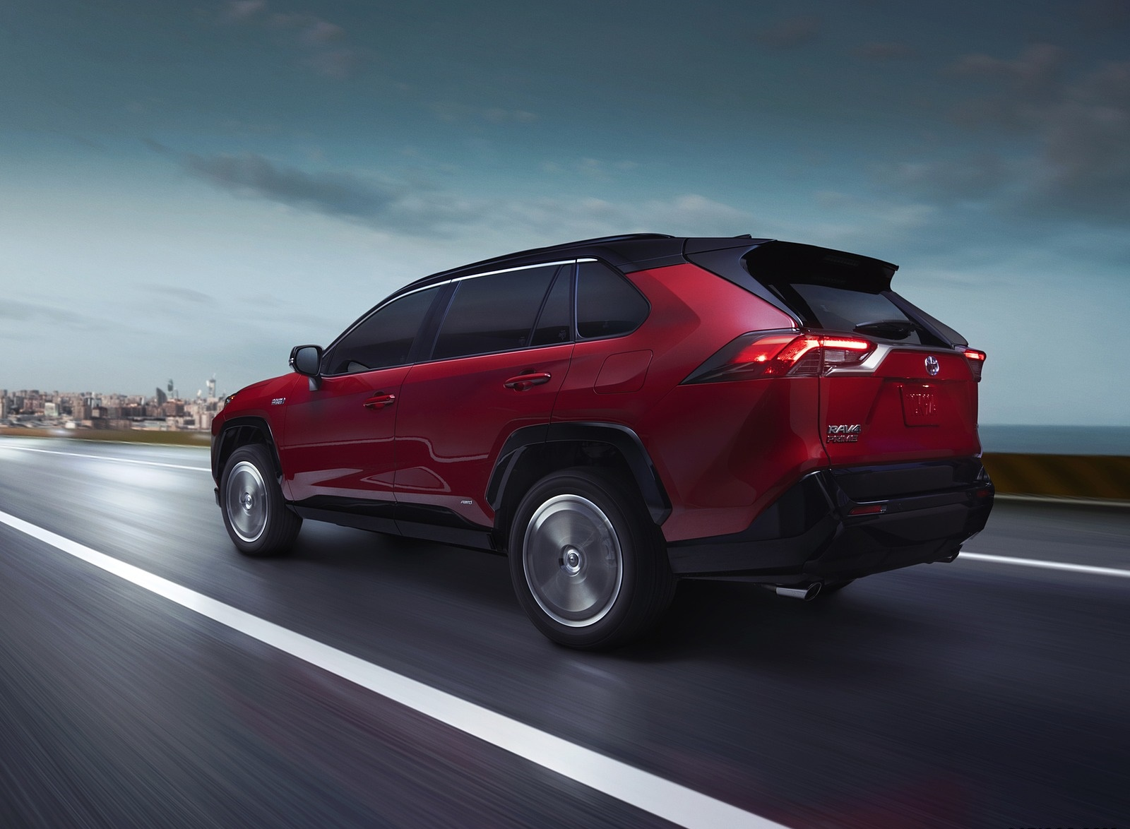 2021 Toyota RAV4 Prime Plug-In Hybrid Rear Three-Quarter Wallpapers (3)