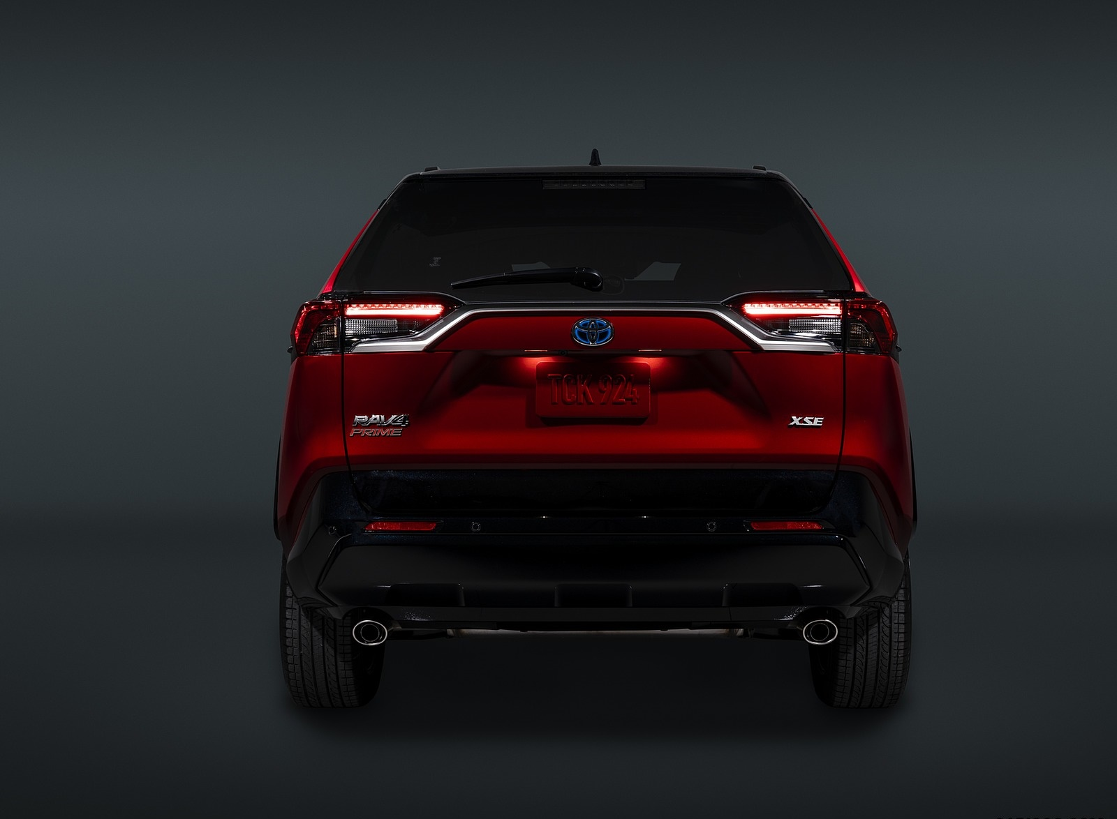 2021 Toyota RAV4 Prime Plug-In Hybrid Rear Wallpapers (10)