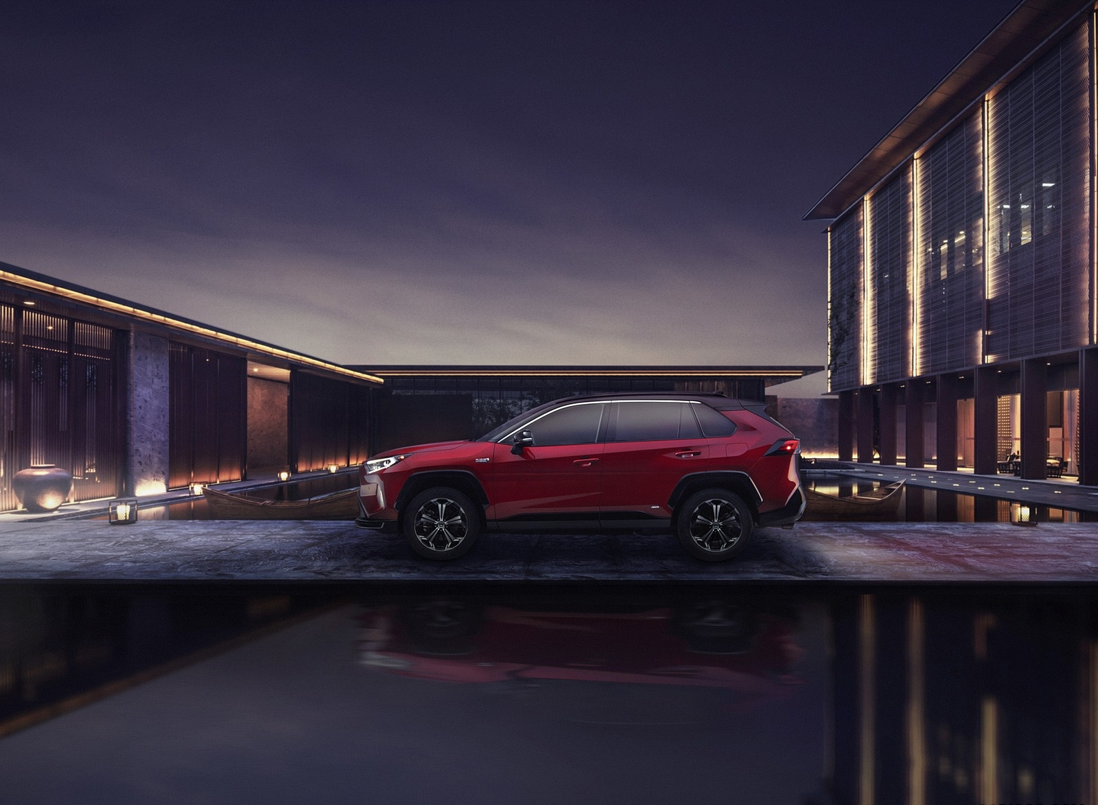 2021 Toyota RAV4 Prime Plug-In Hybrid Side Wallpapers (6)