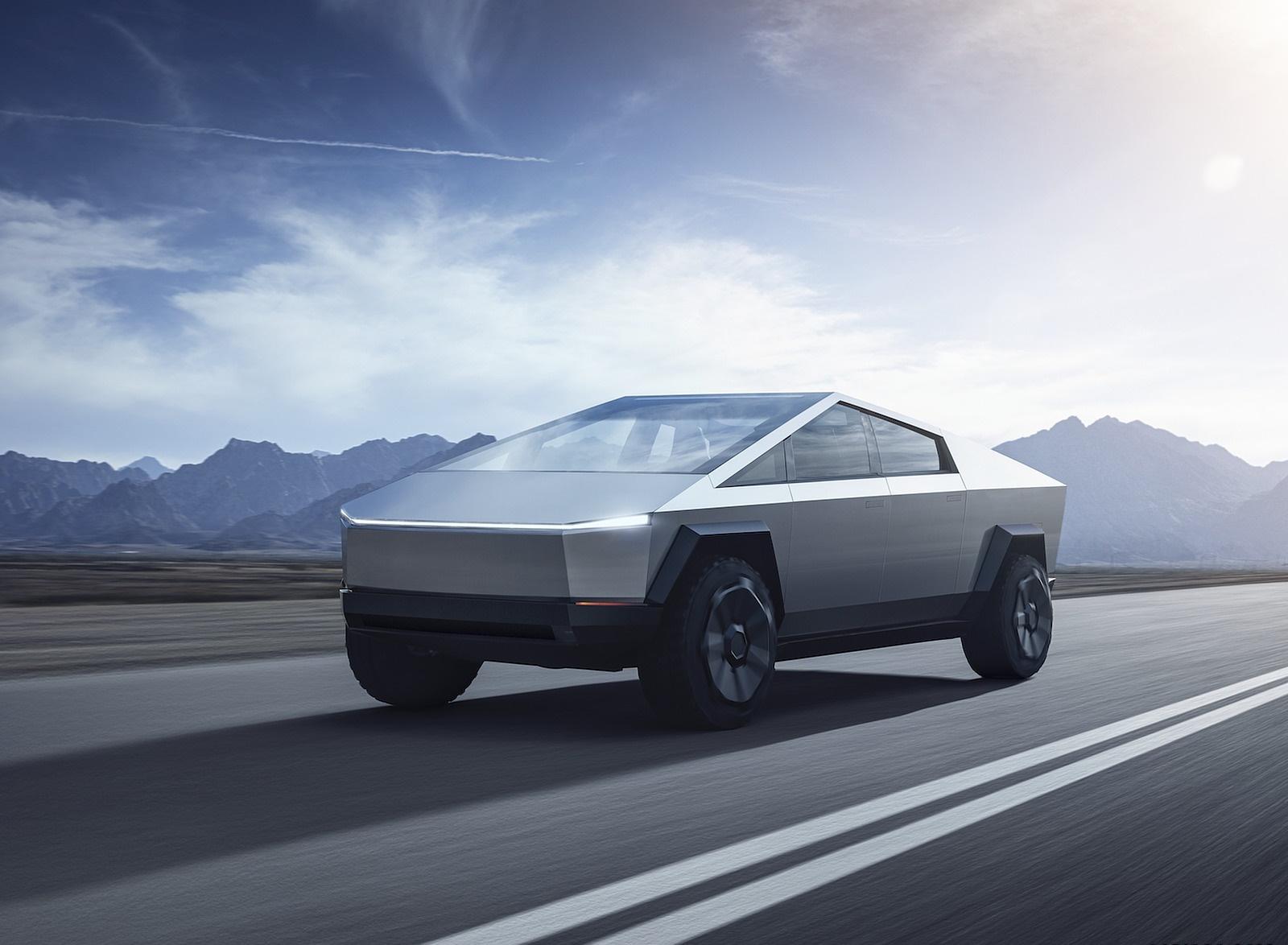 2022 Tesla Cybertruck Front Three-Quarter Wallpapers (1)