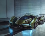 2019 Lamborghini Lambo V12 Vision Gran Turismo Front Wallpapers 150x120 (4)
