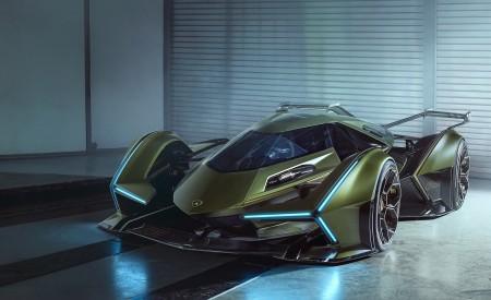 2019 Lamborghini Lambo V12 Vision Gran Turismo Front Wallpapers 450x275 (4)