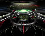 2019 Lamborghini Lambo V12 Vision Gran Turismo Interior Detail Wallpapers 150x120 (16)