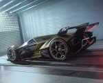 2019 Lamborghini Lambo V12 Vision Gran Turismo Rear Three-Quarter Wallpapers 150x120 (6)