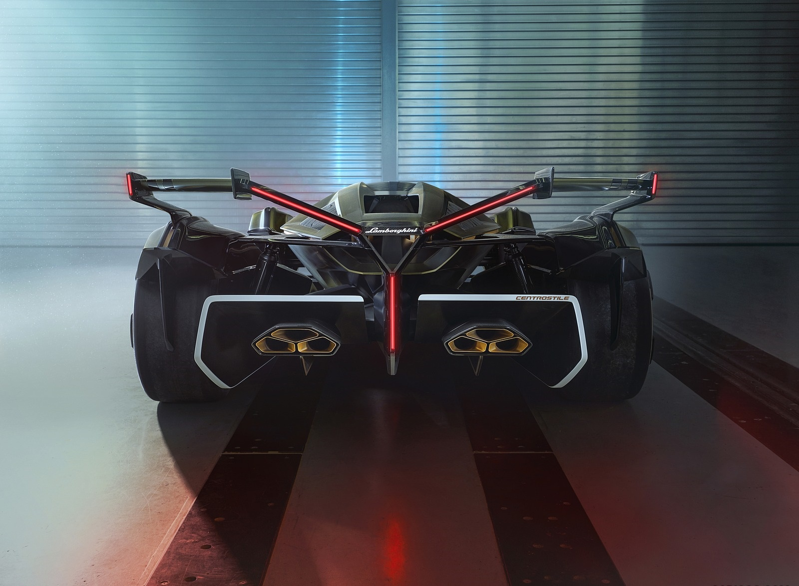 2019 Lamborghini Lambo V12 Vision Gran Turismo Rear Wallpapers (10)