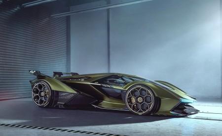 2019 Lamborghini Lambo V12 Vision Gran Turismo Side Wallpapers 450x275 (7)
