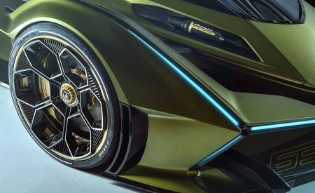 2019 Lamborghini Lambo V12 Vision Gran Turismo Wheel Wallpapers 450x275 (13)