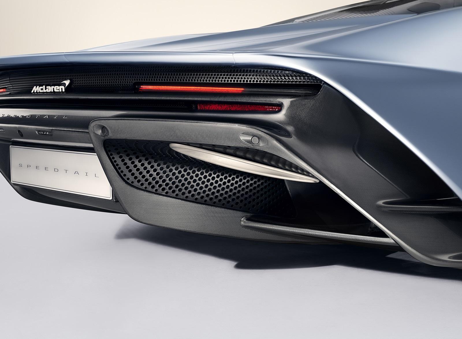 2019 McLaren Speedtail Detail Wallpapers #22 of 39