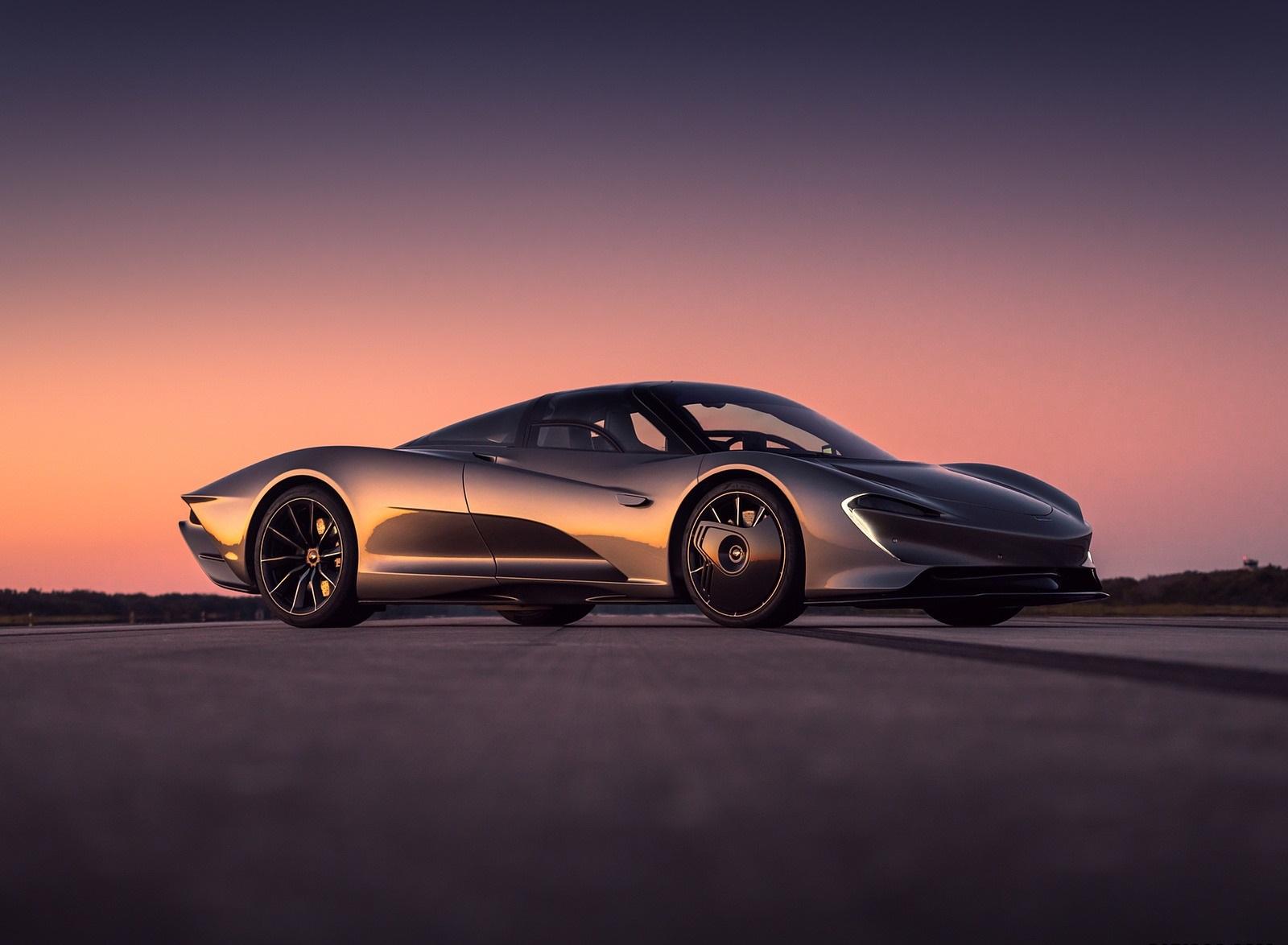 2019 McLaren Speedtail Front Three-Quarter Wallpapers (8)