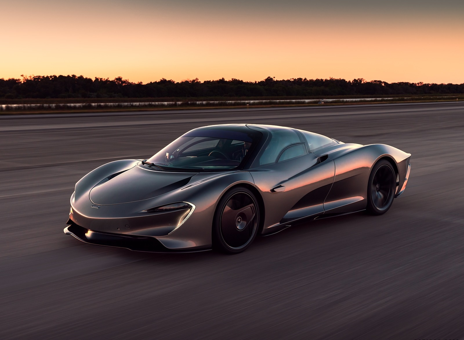 2019 McLaren Speedtail Front Three-Quarter Wallpapers (1)