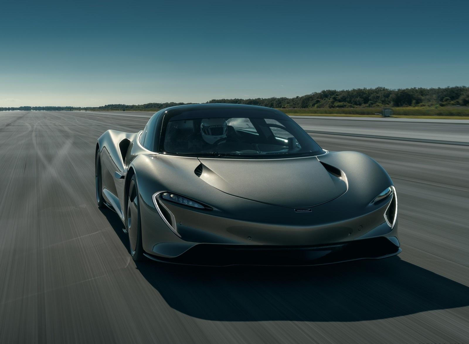 2019 McLaren Speedtail Front Wallpapers #4 of 39