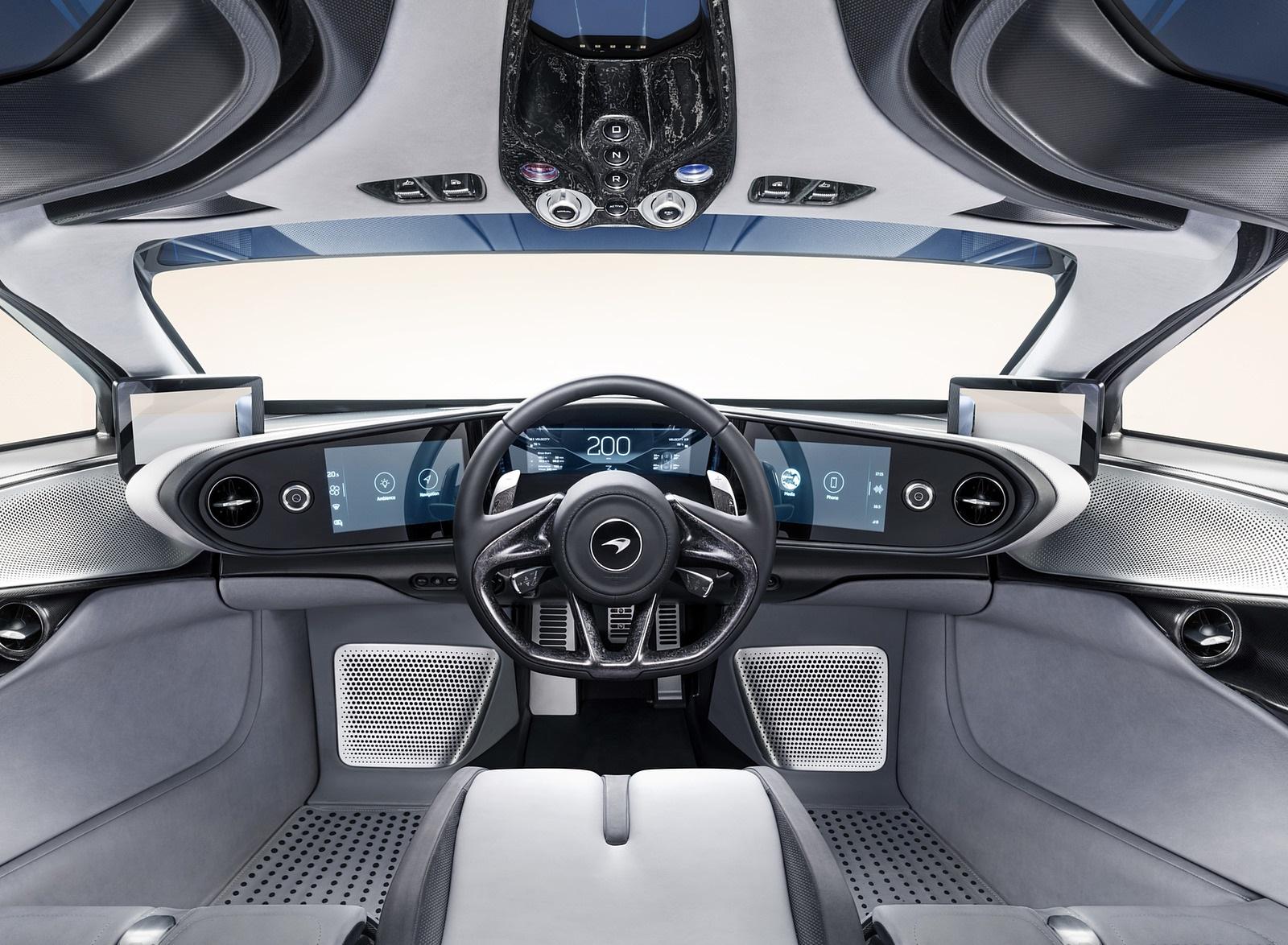 2019 McLaren Speedtail Interior Cockpit Wallpapers #30 of 39