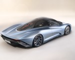 2019 McLaren Speedtail Rear Three-Quarter Wallpapers 150x120