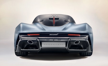 2019 McLaren Speedtail Rear Wallpapers 450x275 (15)