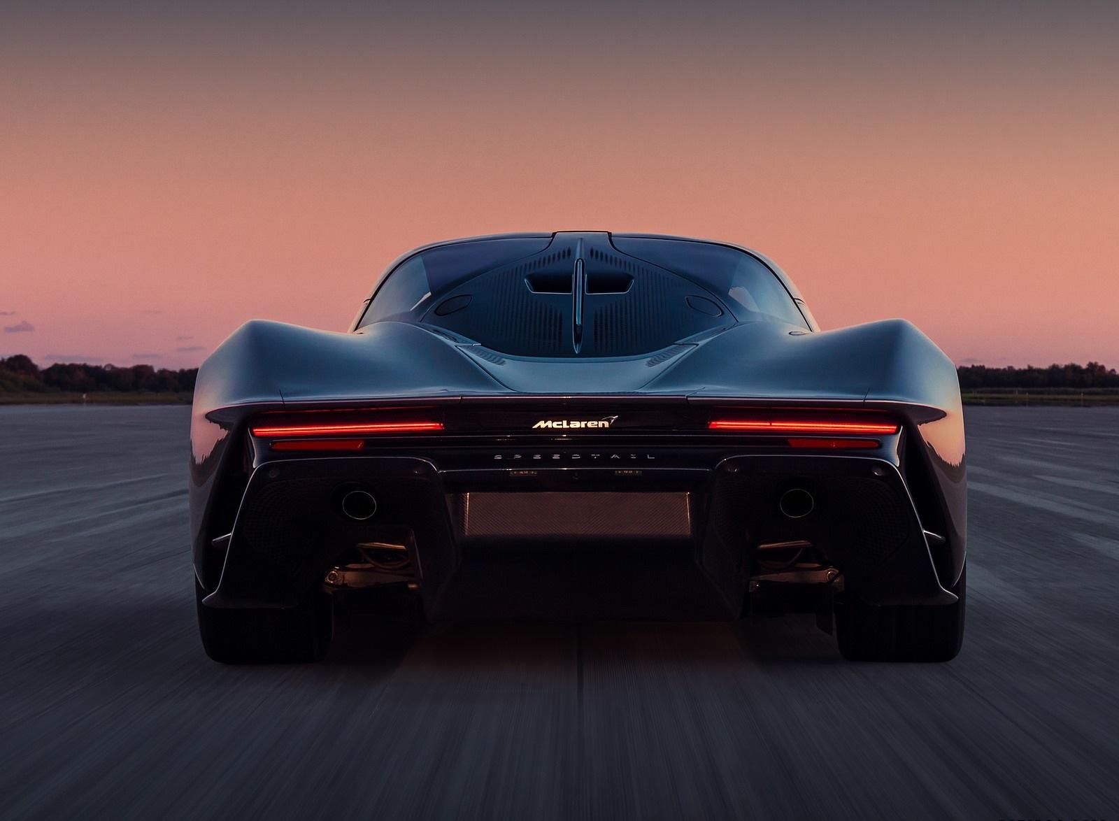 2019 McLaren Speedtail Rear Wallpapers (10)