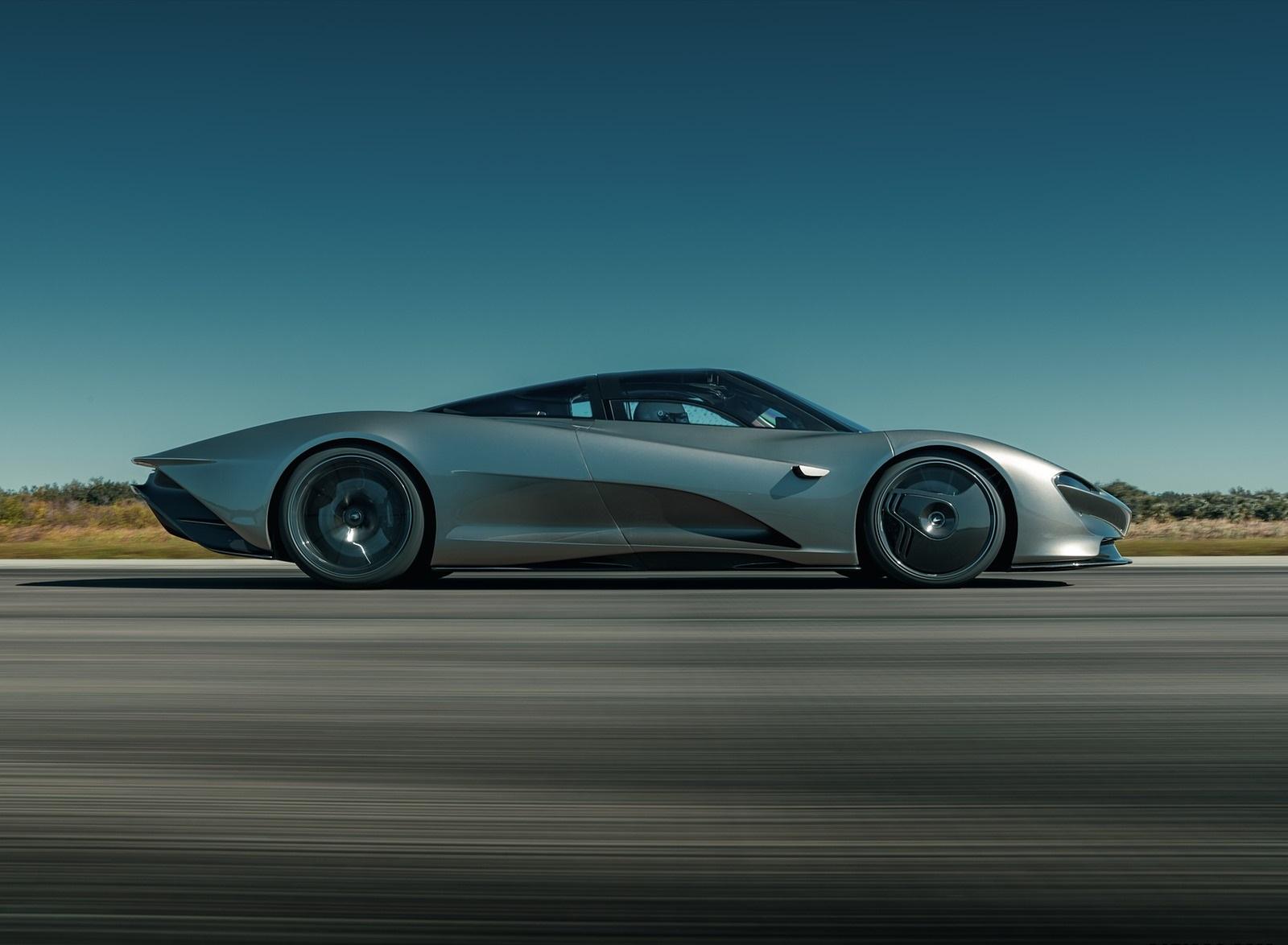 2019 McLaren Speedtail Side Wallpapers (7)