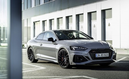2020 Audi RS 5 Coupe (Color: Nardo Gray) Front Three-Quarter Wallpapers 450x275 (6)