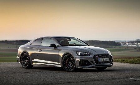 2020 Audi RS 5 Coupe (Color: Nardo Gray) Front Three-Quarter Wallpapers 450x275 (19)
