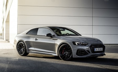 2020 Audi RS 5 Coupe (Color: Nardo Gray) Front Three-Quarter Wallpapers 450x275 (8)