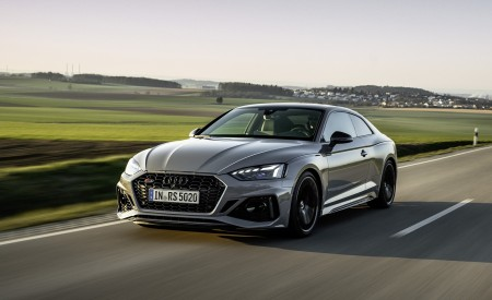 2020 Audi RS 5 Coupe (Color: Nardo Gray) Front Three-Quarter Wallpapers 450x275 (4)