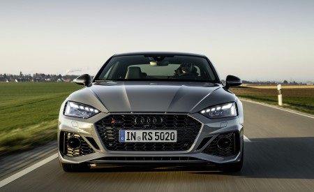 2020 Audi RS 5 Coupe (Color: Nardo Gray) Front Wallpapers 450x275 (2)