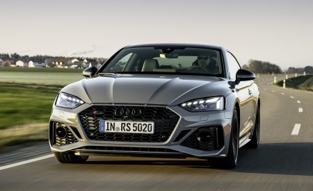 2020 Audi RS 5 Coupe (Color: Nardo Gray) Front Wallpapers 450x275 (3)
