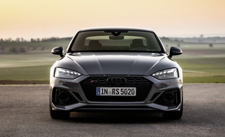 2020 Audi RS 5 Coupe (Color: Nardo Gray) Front Wallpapers 450x275 (20)