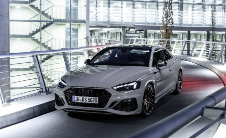 2020 Audi RS 5 Coupe (Color: Nardo Gray) Front Wallpapers 450x275 (9)