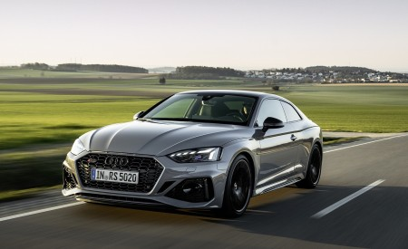 2020 Audi RS 5 Coupe (Color: Nardo Gray) Front Wallpapers 450x275 (5)