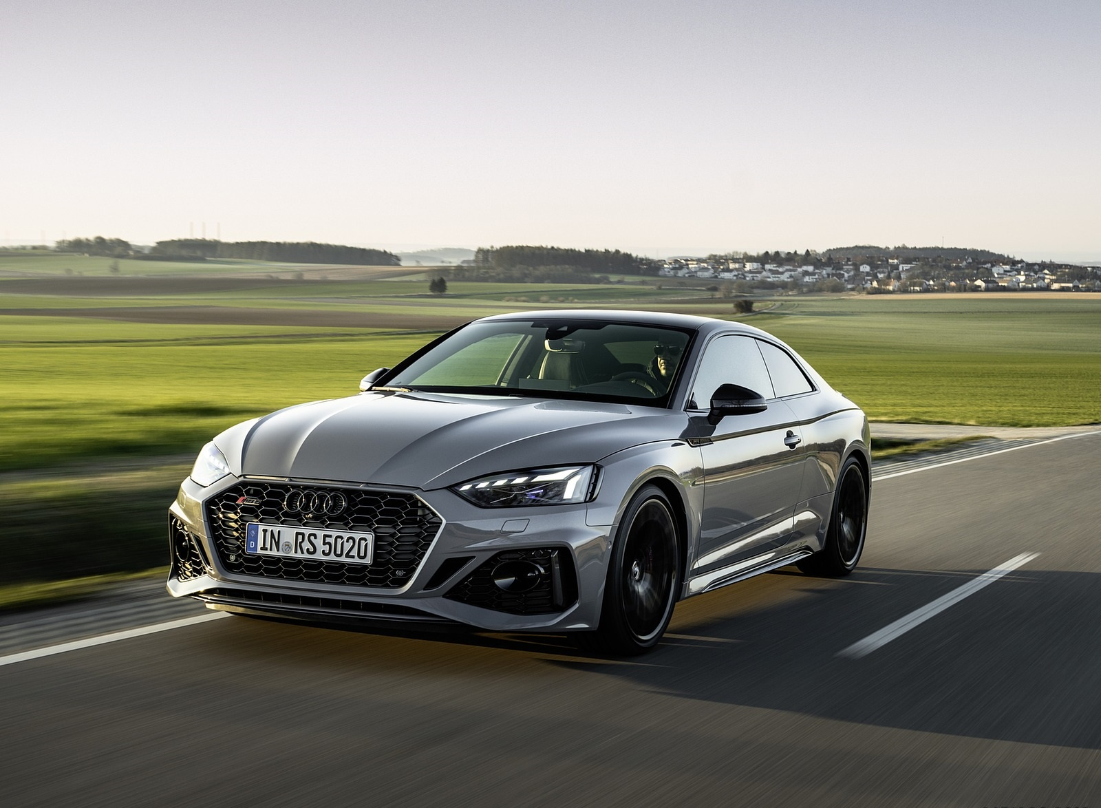 2020 Audi RS 5 Coupe (Color: Nardo Gray) Front Wallpapers (5)