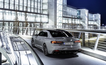 2020 Audi RS 5 Coupe (Color: Nardo Gray) Rear Three-Quarter Wallpapers 450x275 (11)