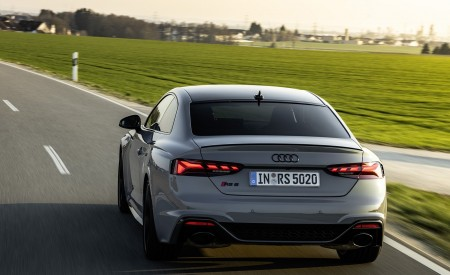 2020 Audi RS 5 Coupe (Color: Nardo Gray) Rear Wallpapers 450x275 (16)