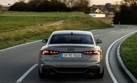 2020 Audi RS 5 Coupe (Color: Nardo Gray) Rear Wallpapers 450x275 (17)