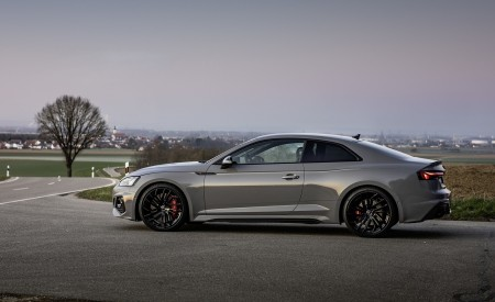 2020 Audi RS 5 Coupe (Color: Nardo Gray) Side Wallpapers 450x275 (23)