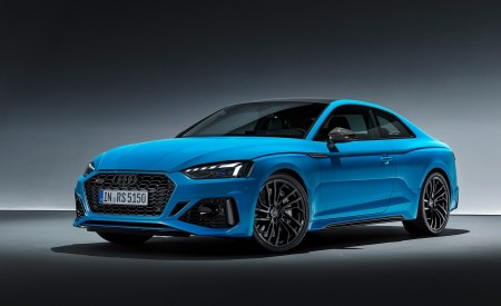 2020 Audi RS 5 Coupe (Color: Turbo Blue) Front Three-Quarter Wallpapers 450x275 (18)