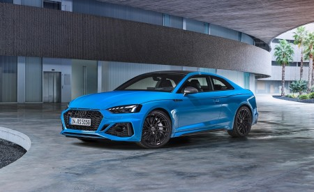 2020 Audi RS 5 Coupe (Color: Turbo Blue) Front Three-Quarter Wallpapers 450x275 (13)