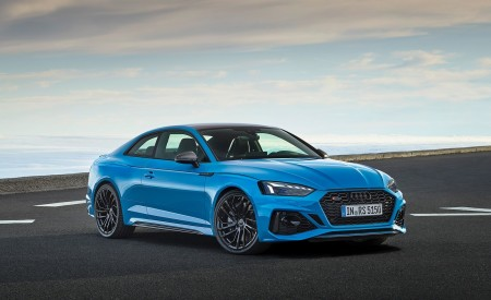 2020 Audi RS 5 Coupe (Color: Turbo Blue) Front Three-Quarter Wallpapers 450x275 (7)