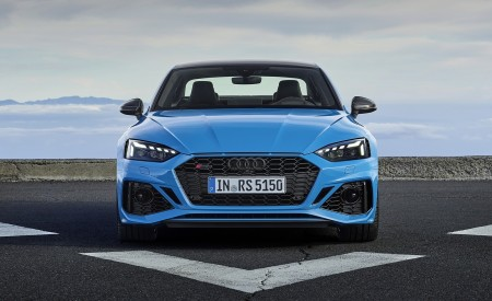 2020 Audi RS 5 Coupe (Color: Turbo Blue) Front Wallpapers 450x275 (8)