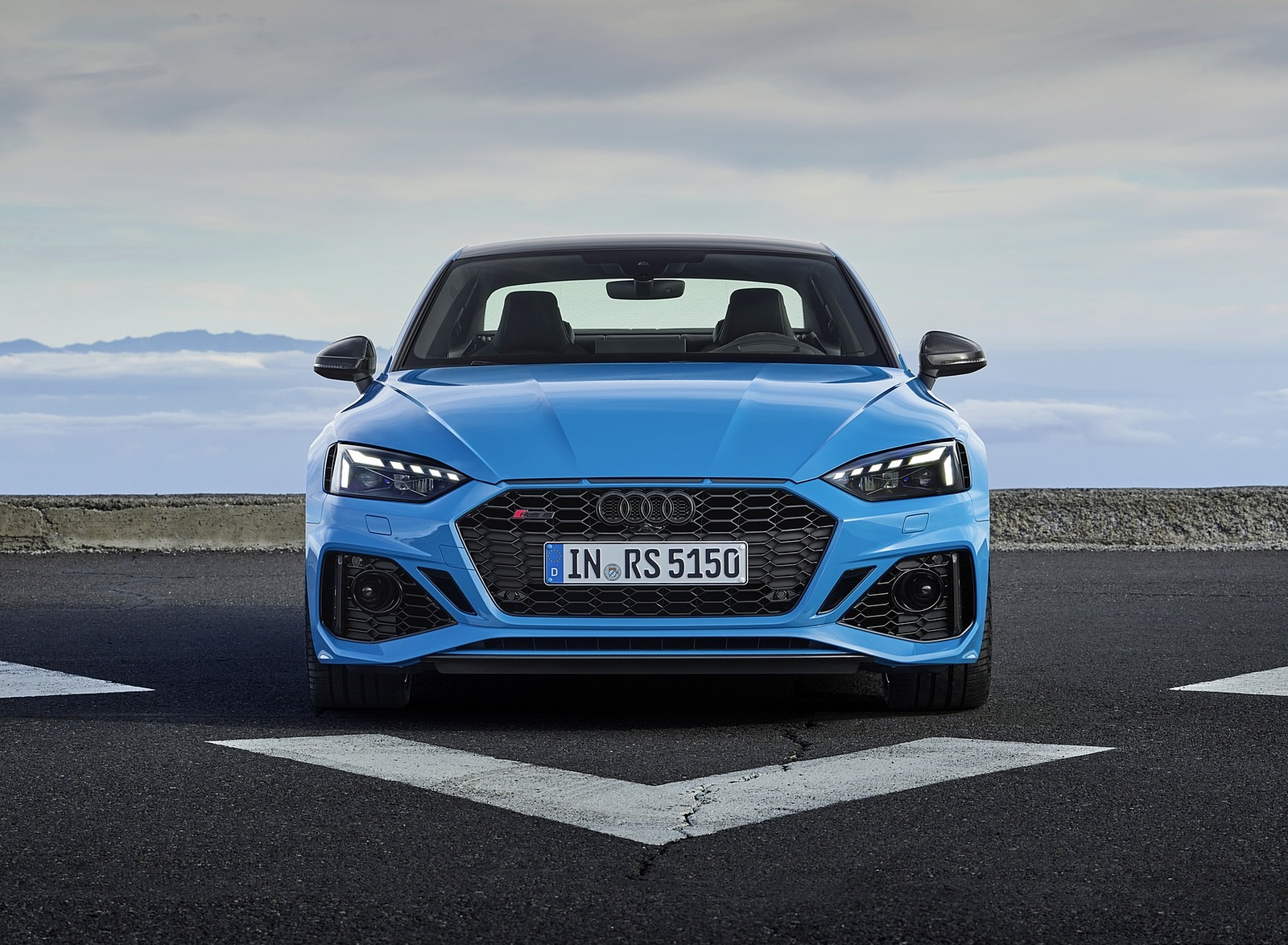 2020 Audi RS 5 Coupe (Color: Turbo Blue) Front Wallpapers (8)