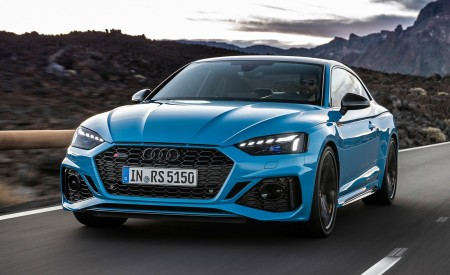 2020 Audi RS 5 Coupe (Color: Turbo Blue) Front Wallpapers 450x275 (3)
