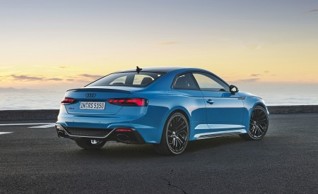 2020 Audi RS 5 Coupe (Color: Turbo Blue) Rear Three-Quarter Wallpapers 450x275 (9)
