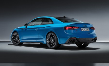 2020 Audi RS 5 Coupe (Color: Turbo Blue) Rear Three-Quarter Wallpapers 450x275 (19)