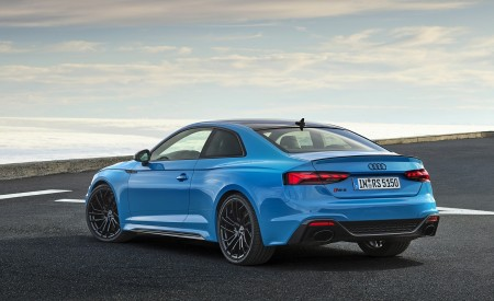 2020 Audi RS 5 Coupe (Color: Turbo Blue) Rear Three-Quarter Wallpapers 450x275 (10)