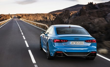 2020 Audi RS 5 Coupe (Color: Turbo Blue) Rear Wallpapers 450x275 (4)
