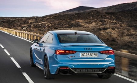 2020 Audi RS 5 Coupe (Color: Turbo Blue) Rear Wallpapers 450x275 (5)