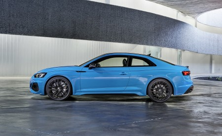 2020 Audi RS 5 Coupe (Color: Turbo Blue) Side Wallpapers 450x275 (15)